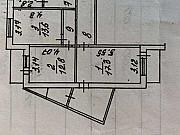 3-комнатная квартира, 80 м², 10/10 эт. Белгород