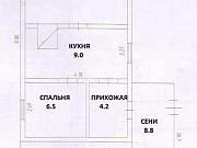 Дом 33.8 м² на участке 15 сот. Темиртау