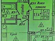 1-комнатная квартира, 38.3 м², 12/16 эт. Новочебоксарск