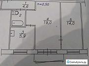 2-комнатная квартира, 46.5 м², 5/5 эт. Красноярск