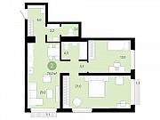 2-комнатная квартира, 74.2 м², 7/10 эт. Новосибирск