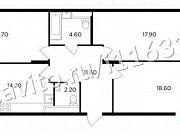 3-комнатная квартира, 90.8 м², 7/17 эт. Мытищи