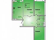 3-комнатная квартира, 60 м², 7/20 эт. Ростов-на-Дону