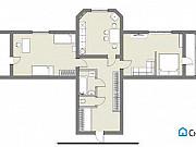 2-комнатная квартира, 81 м², 7/9 эт. Чита