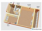 1-комнатная квартира, 44.5 м², 3/10 эт. Томск