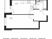 1-комнатная квартира, 37 м², 13/17 эт. Томилино