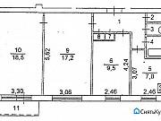 3-комнатная квартира, 63 м², 4/9 эт. Челябинск