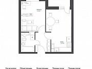 1-комнатная квартира, 37 м², 4/17 эт. Томилино