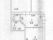 1-комнатная квартира, 35.1 м², 2/5 эт. Алатырь