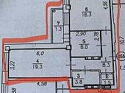 2-комнатная квартира, 59.2 м², 2/16 эт. Омск
