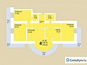 4-комнатная квартира, 149 м², 7/18 эт. Пермь