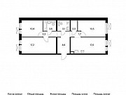 3-комнатная квартира, 79.7 м², 6/11 эт. Балашиха