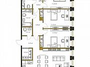 3-комнатная квартира, 129.8 м², 9/20 эт. Санкт-Петербург