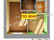 1-комнатная квартира, 28 м², 1/3 эт. Казань