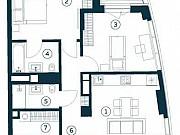 3-комнатная квартира, 80.2 м², 5/20 эт. Москва
