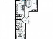 2-комнатная квартира, 56.9 м², 10/25 эт. Ростов-на-Дону