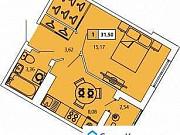 1-комнатная квартира, 31.6 м², 4/11 эт. Санкт-Петербург