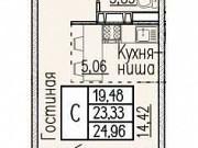 Студия, 25 м², 13/18 эт. Новороссийск